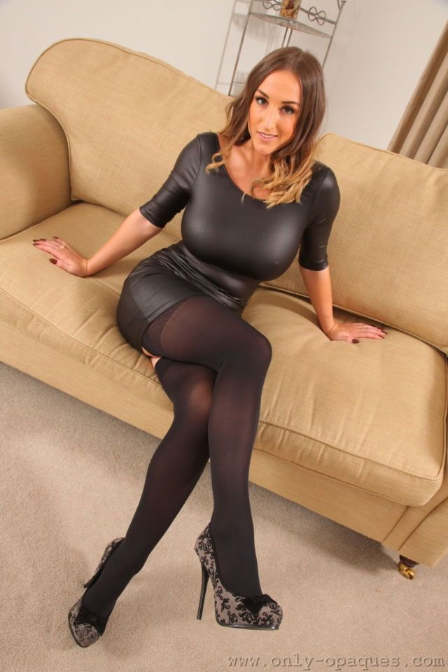 Have you ever masturbated in pantyhose