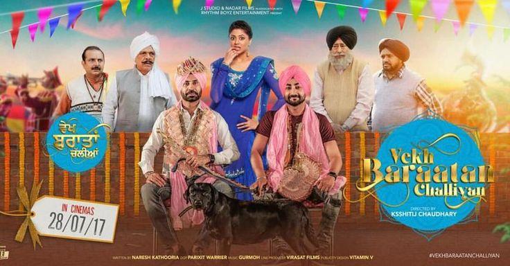 Vekh Barataan Challiyan Full Movie Online  Binnu Dhillon and Kavita Kaushik starrer Punjabi comedy drama movie Vekh Barataan Challiyan r...