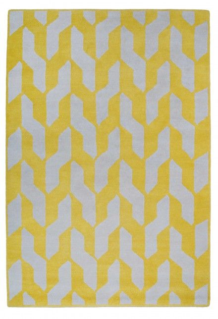 Cable Yellow by The Rug Company
