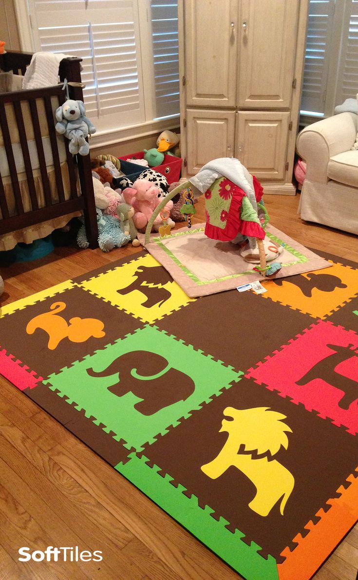 1000 images about decorating nurseries on pinterest for Playroom floors
