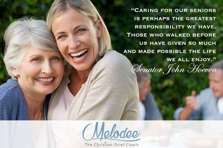 """""""Caring for our seniors is perhaps the greatest responsibility we have.  Those who walked before us have given so much and made possible the life we all enjoy.""""  