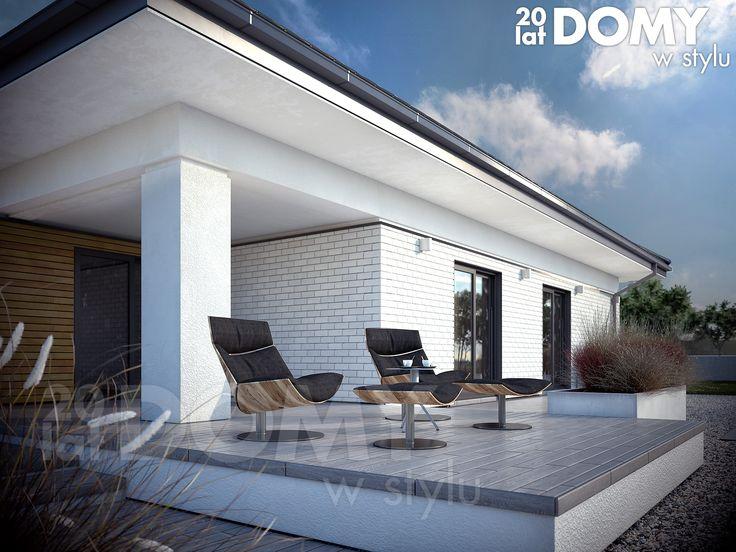 Ariel 7 (223,02 m2) to projekt domu parterowego z użytkowym poddaszem. Pełna prezentacja projektu jest dostępna na stronie: https://www.domywstylu.pl/projekt-domu-ariel_7.php. #projekty #projekt #dom #domywstylu #mtmstyl #projektygotowe #ariel #architektura #architecture #home #houses
