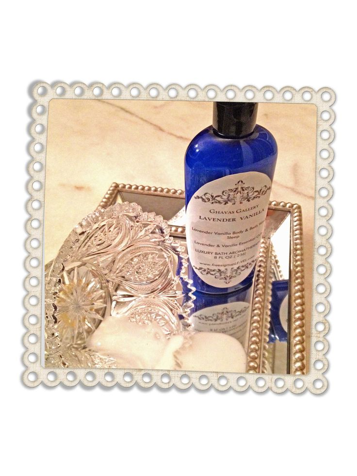 Lavender Vanilla Body & Bath $10.00