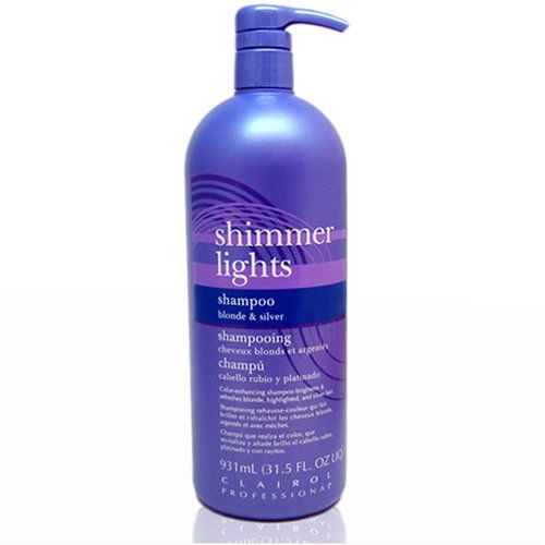 Amazon.com: Clairol Professional Shimmer Lights: Refreshes faded highlighted hair. Tones down brassiness.