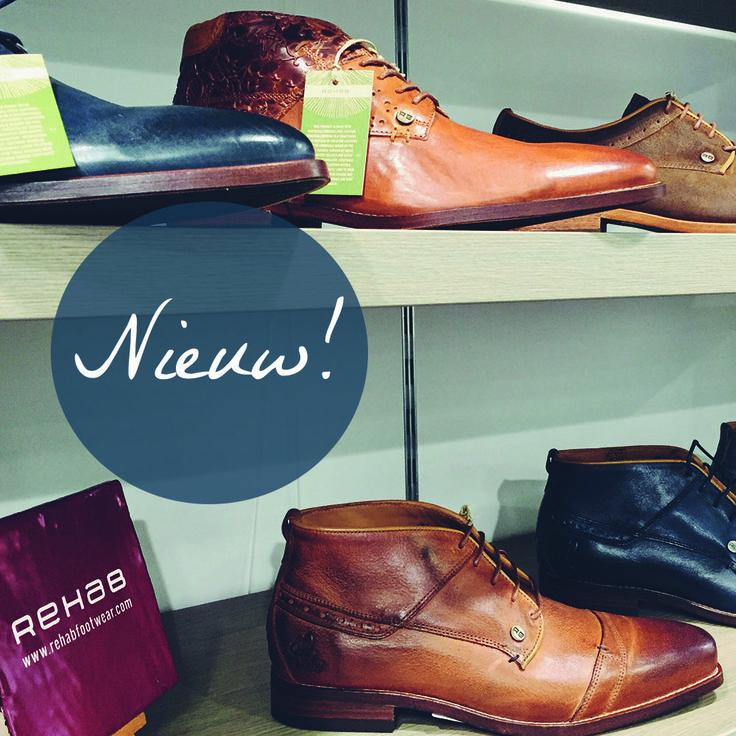 Nieuw bij Steegenga Mode. Authentieke leren schoenen van het Hollandse merk Rehab. Deze stijlvolle blikvangers maken je outfit helemaal af! #shoes #fashion #mode #steegenga #heren #leer #kostuum #inspiration #stijl