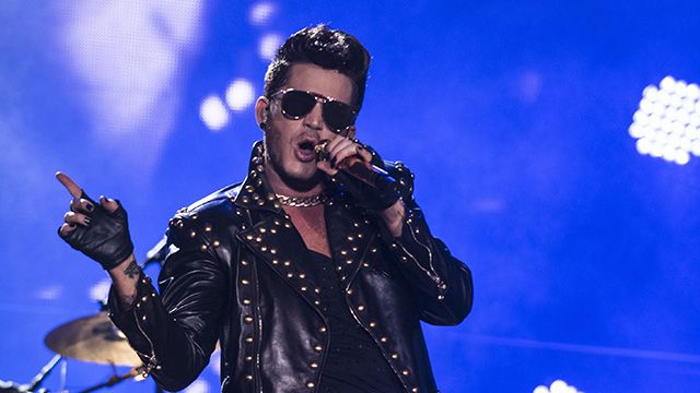 The singer spoke to ET after debuting his new single, 'Welcome to the Show,' on Thursday's 'Idol.'