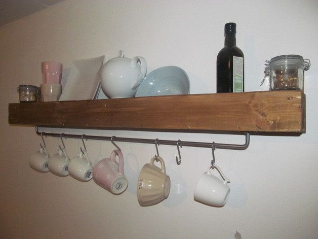 Upcycling-Regal für Küche, Bad usw.