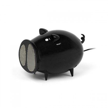Haut-Parleur Radio Cochon Noir. Kas Design, Distributeur de Produits High-Tech