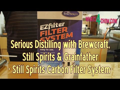 The Still Spirits Carbon Filter System for Reflux Distilled Alcohol