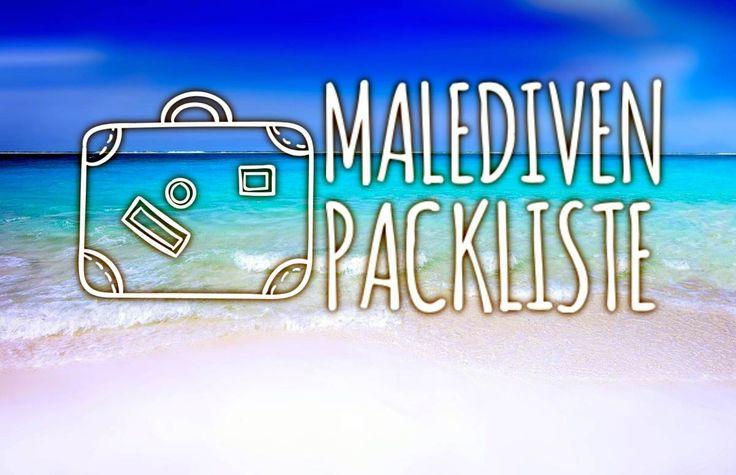 Die ultimative Malediven Packliste