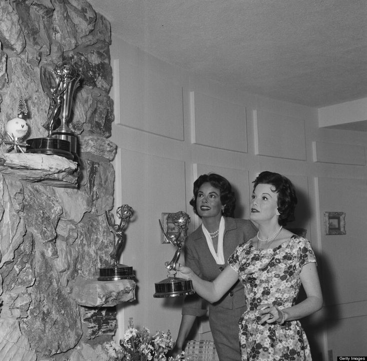 Joanne Jordan and Nanette Fabray in 1961.