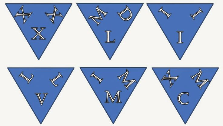 Fun For All: Roman Numerals - Odd One Out Puzzle