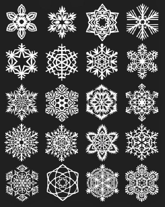 patternprints journal: PPJ GO ON CHRISTMAS HOLIDAYS: TUTORIALS TO MAKE PAPER SNOWFLAKES