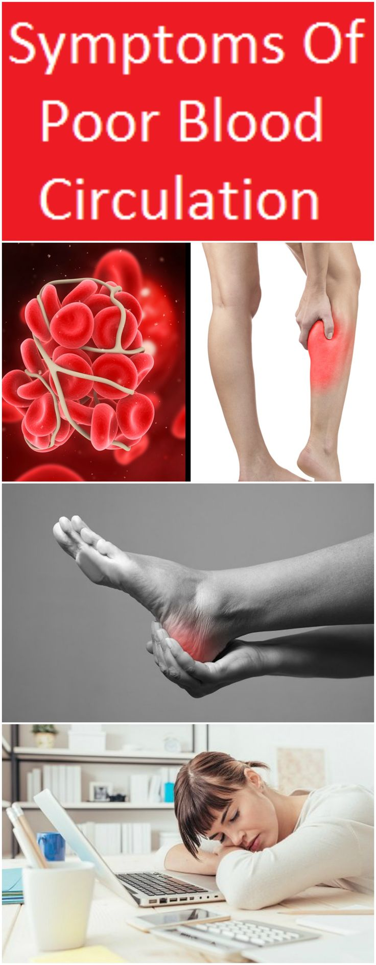 A wide range of symptoms may indicate that you have poor