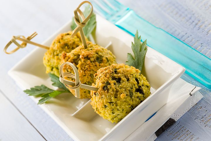 Quinoa Meatless Balls | The Dr. Oz Show | Follow this Dr. Oz Recipe board Now and Make it later!