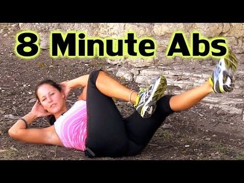 – 8 minute abs – Today I Will Be Fit