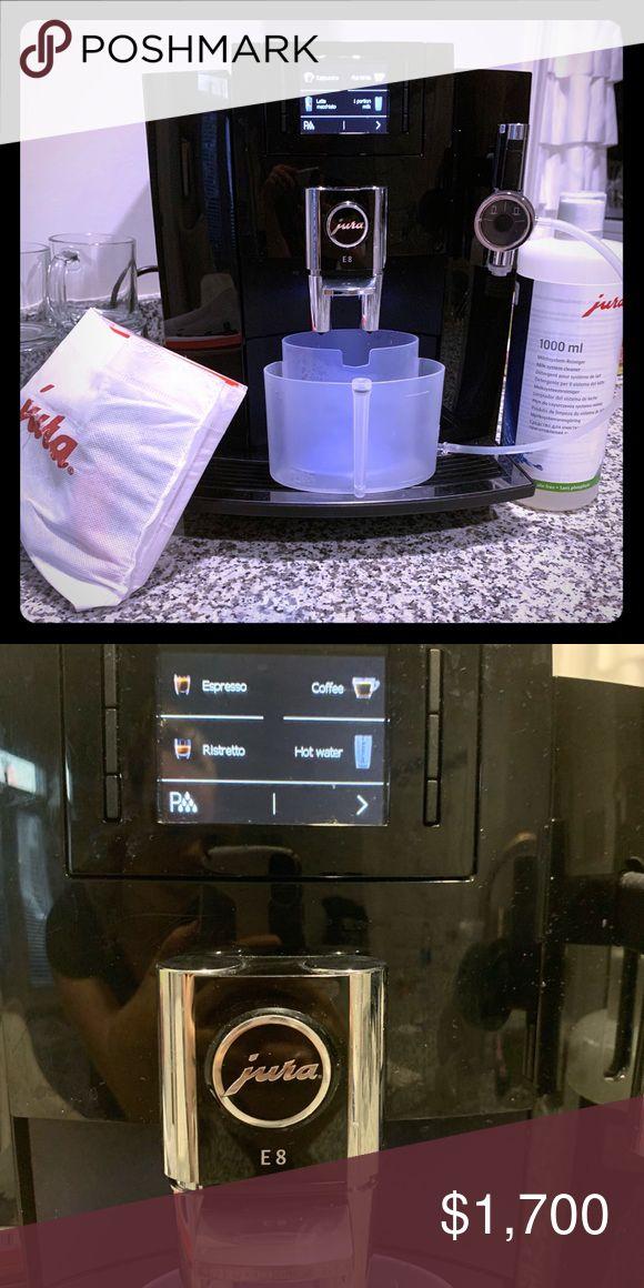 Jura E8 Coffee Espresso Machine Espresso Coffee Espresso Machine Jura