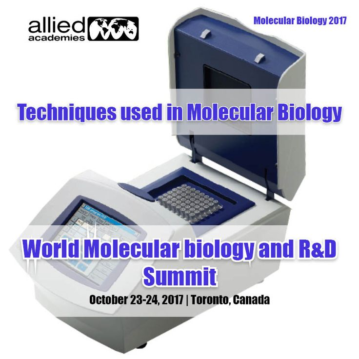 Techniques used in Molecular Biology =================================== In Molecular Biology several techniques are used those are given below 1)	# Molecular cloning or Expression cloning 2) Polymerase Chain Reaction 3) #Gel electrophoresis