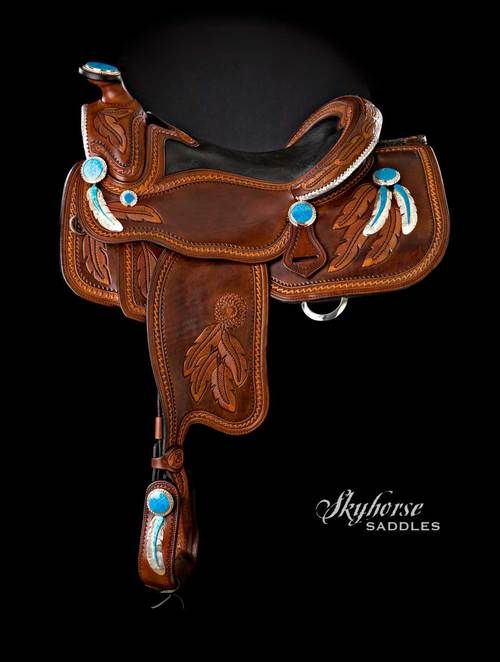 Pleasure — Skyhorse Saddles...I really love this