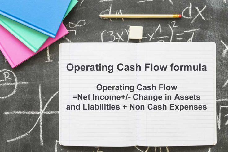 Operating Cash Flow Formula Cash flow, Cash flow