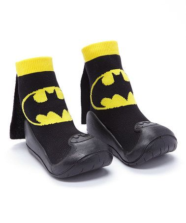 This Black Batman Grippy Socks is perfect! #zulilyfinds