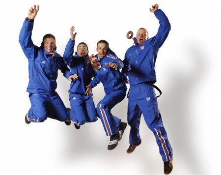 L'Equipe de France olympique aux JO de Turin - Album photo Médailles françaises