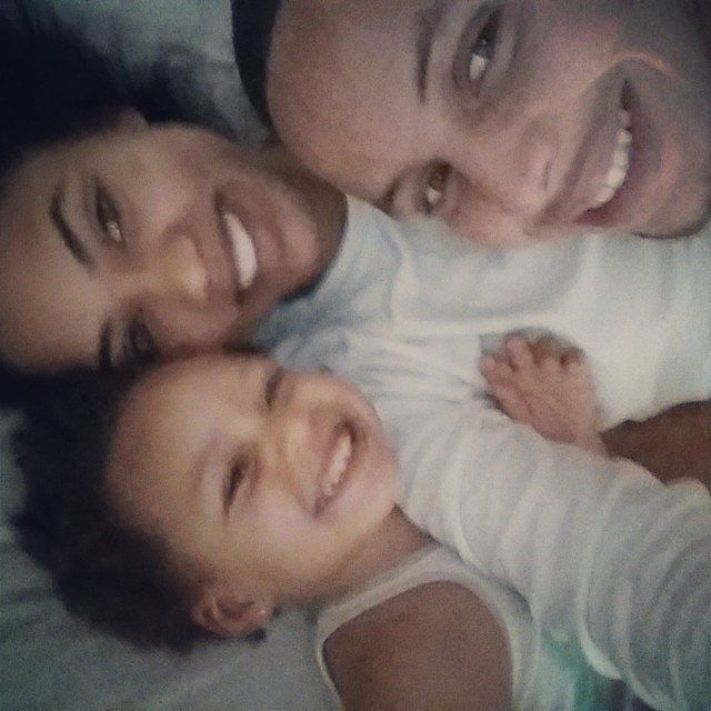 """Sweet; a beautiful family photo. """"Further Proof That Riley Is the Real Star of the Stephen Curry (NBA star) Family"""""""