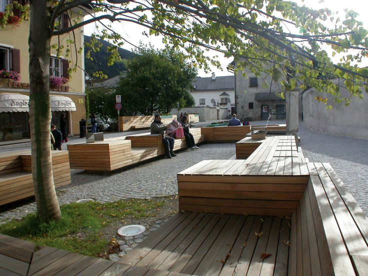 Pedestrian Zone Innichen by AllesWirdGut