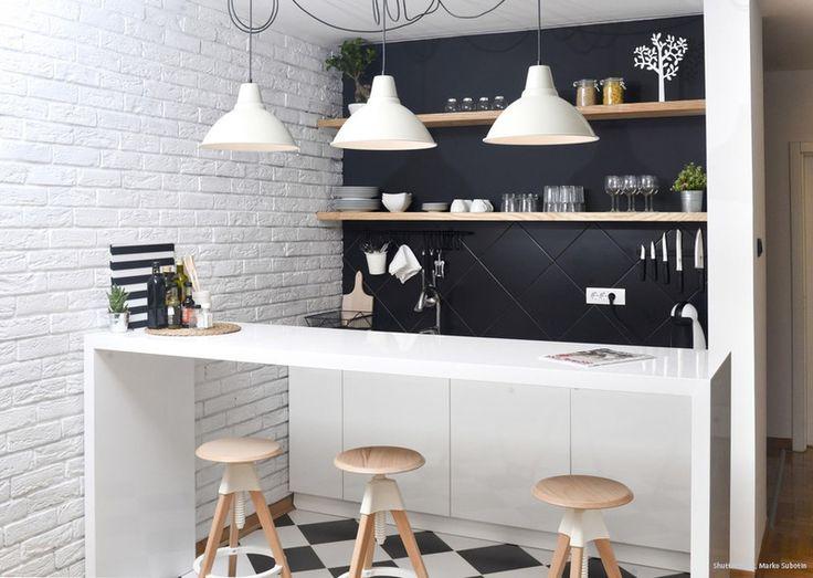 196 Best Images About Küche | Kitchen On Pinterest | Small ... Cooles Design Streichen
