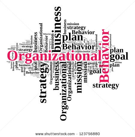 organization behavior Organizational behavior focuses on understanding individual and group behavior in organizations and taking system approach for controlling it.