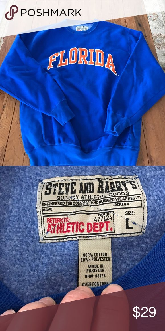 University Florida Steve & Barry's sweatshirt L In excellent condition size large steve & barry's Shirts Sweatshirts & Hoodies
