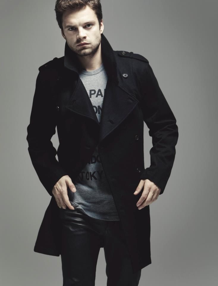 photoshoot of sebastian stan | Gossip Girl: elle photoshoot with leighton meester and ed westwick