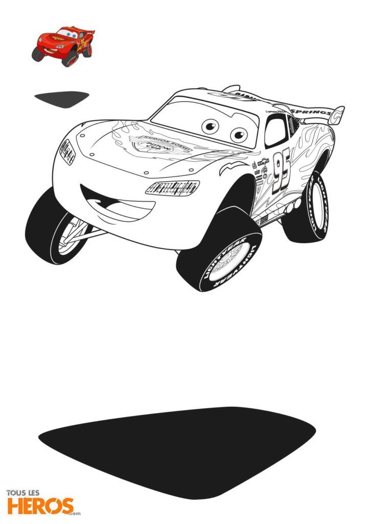 Coloriages Cars à imprimer gratuitement sur le blog de Tous-les-Héros | Coloriage, Livre de ...