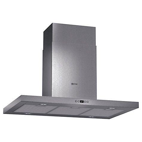 £700 Buy Neff I79SH52N0B Chimney Island Cooker Hood, Stainless Steel Online at johnlewis.com