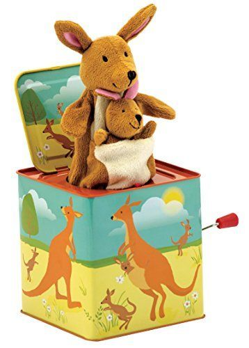 Schylling Schylling Kangaroo Jack in the Box Toy * AMAZON Great Sale