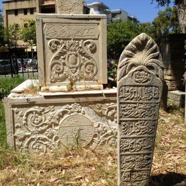 Turkse begraafplaats Rhodos-stad