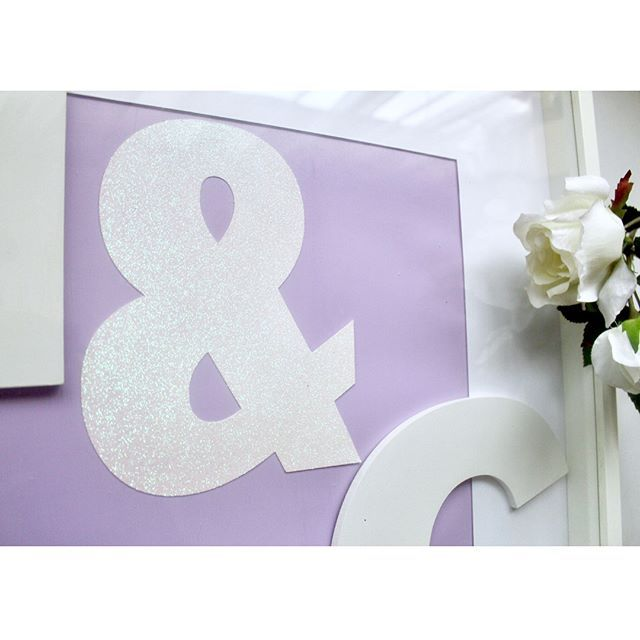 When you don't get a chance to make the wedding until the night before the wedding 🙈. I hope they like it 💍🎩 . Swipe to see the frame in full and tell me what you think ☺️ . . . . #weddinggift #weddingdecor #lilac #glitter #white #farrowandball #mpsandtsc #uniquepartygifts #smallbusiness #kidsinteriors #childrensinteriors #kidsparty #childrensroom #playroomdecor #handcrafted #nurseryinspo #partystyling #personalised #customorder #homedecor #nurserydecor #partydecor #kidsroom #wallart…