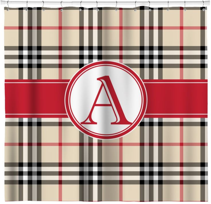 black and tan shower curtain. Red  Tan Plaid Shower Curtain Personalized The 25 best shower curtain ideas on Pinterest Cabin