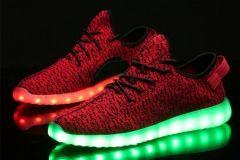 Buty LED Czerwone Lax