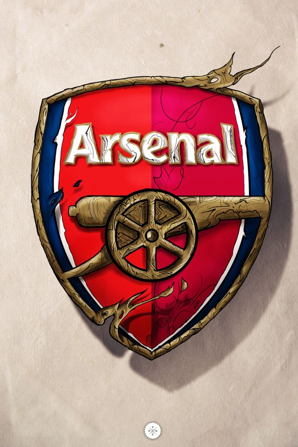 arsenal logo on behance arsenal gunners pinterest i