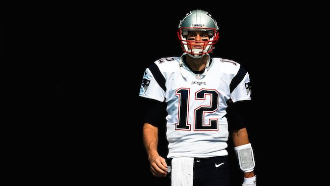 Tom Brady in the Tunnel - STACK