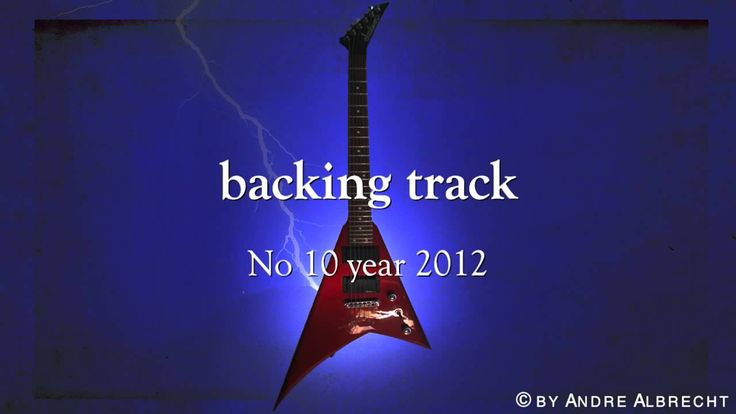 backing track epic metal ballad in E minor