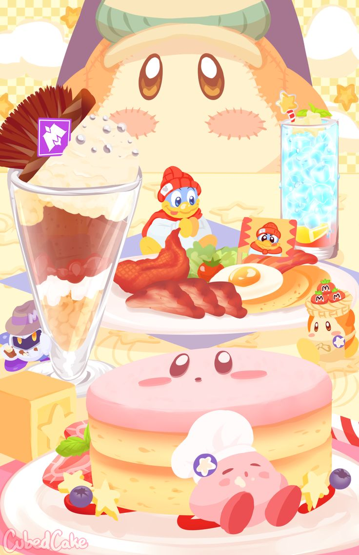 Kirby Café by Jalli
