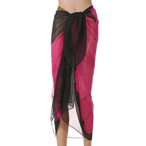 Sarong Pareo Plage Jupe De Bain Fleur Cache Maillot Bikini Cover Up Scarf Femme: Materiel: mousseline de soie Taille: 150cm X100cm Poids:…
