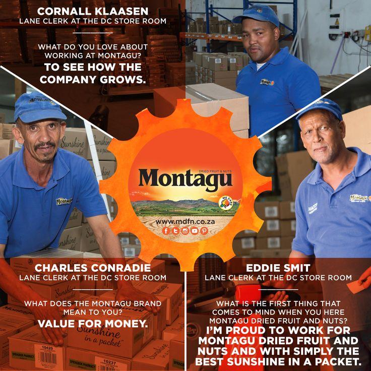 Meet the amazing gentlemen on our Lane Clerk team! :) #MyMontagu   #BehindTheScenes   #WeCare
