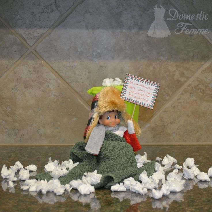 Pay it forward: make care packages for the homeless  - Elf On The Shelf 2015 Calendar (25+ NEW Ideas!) w/ FREE Printables!  #Christmas #Clothes #Costume #Day #Easy #Elves #Eve #Fast #Food #First #Funny #Girl #Good #Goodbye #Hiding #Hilarious #Holiday #Jesus #Jokes #Kid #Kindness #Lazy #Magic #Minutes #Mischief #Moms #Movie #Moving #Night #Old #Pajamas #Pet #Photos #Pictures #Planner #PJs #Pranks #Quick #Random #RAK #Reindeer #Returning #Toddlers #Tradition #Tricks #Video #Xmas #Year #Young