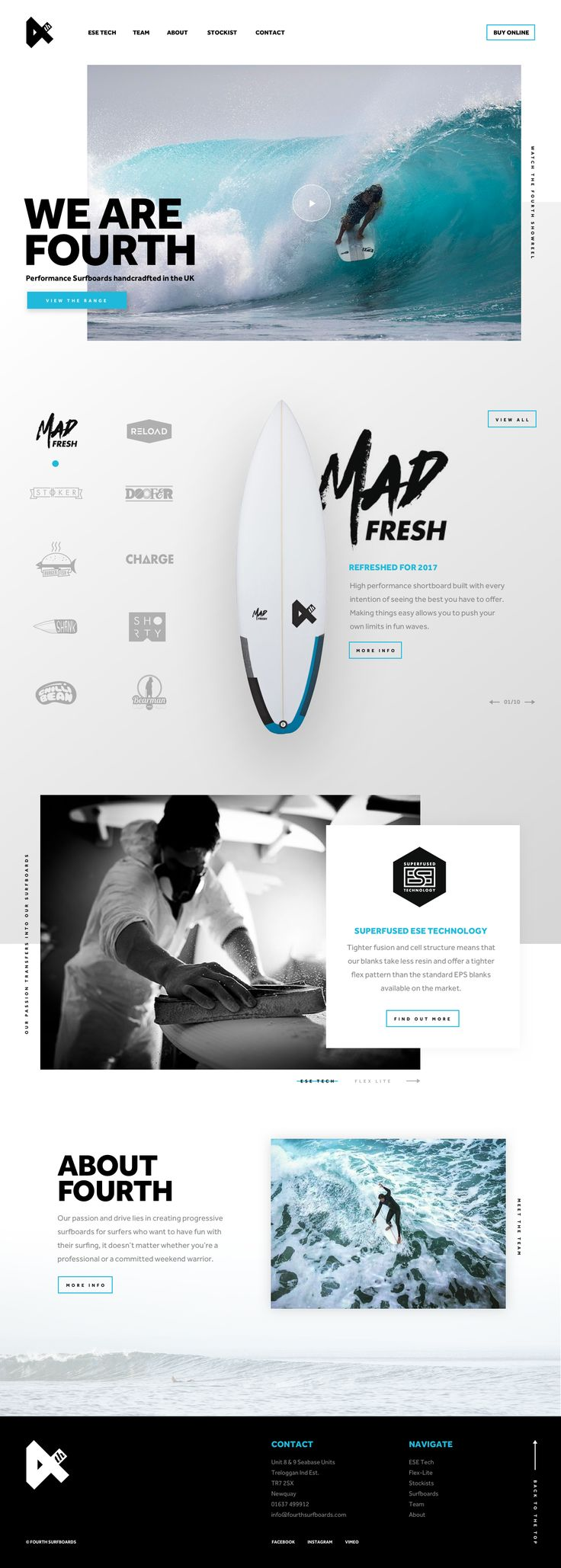 Fourth Surf Boards Concept by Tristan Stubbings @ dribbble.com