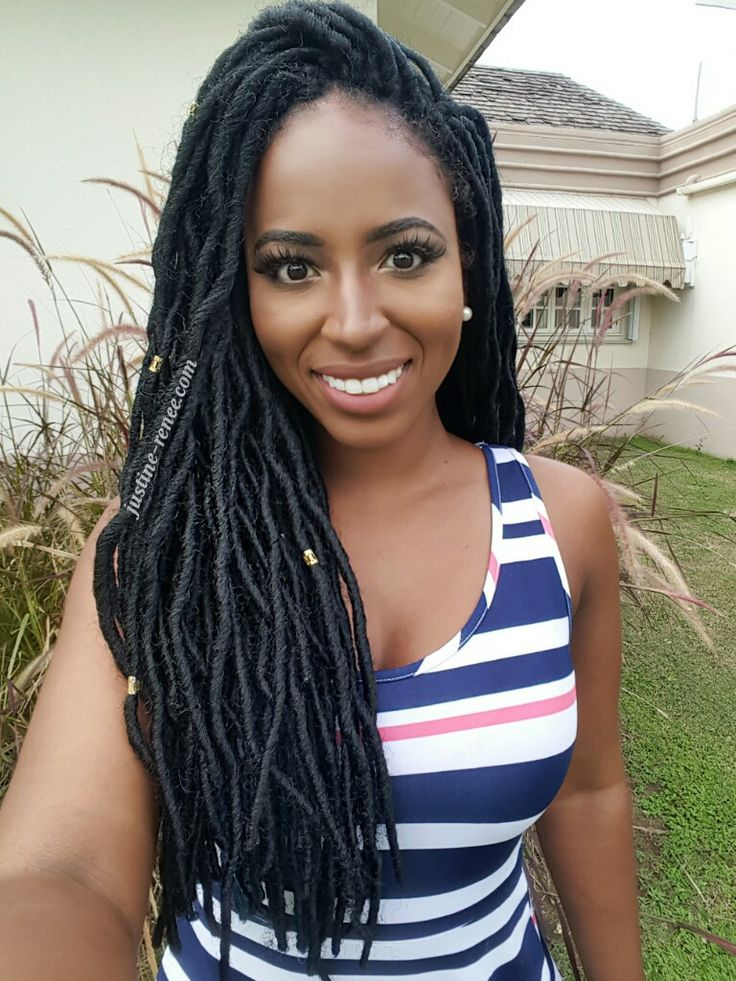 """Full review on protective styling using the FreeTress 2x Soft Wavy Crochet Faux Locs 20"""".  #crochetbraids #braids #fauxlocs #locs #crochetfauxlocs #protectivestyle"""