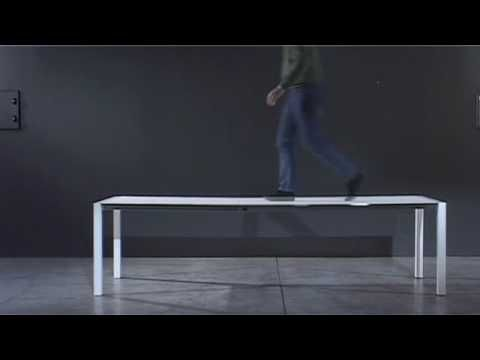 Sushi table by Kristalia Products available through Selene. www.selenefurniture.com