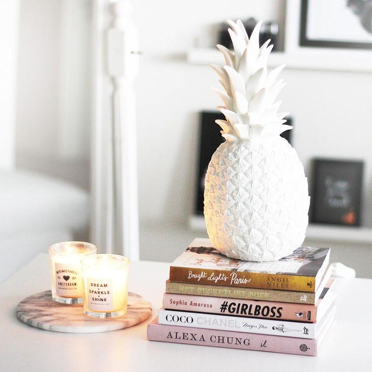 Witte ananas lamp - ModeMustHaves.nl
